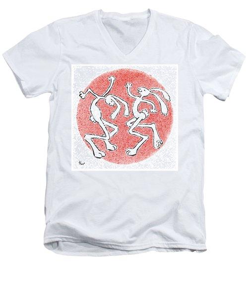 Bailamos Men's V-Neck T-Shirt