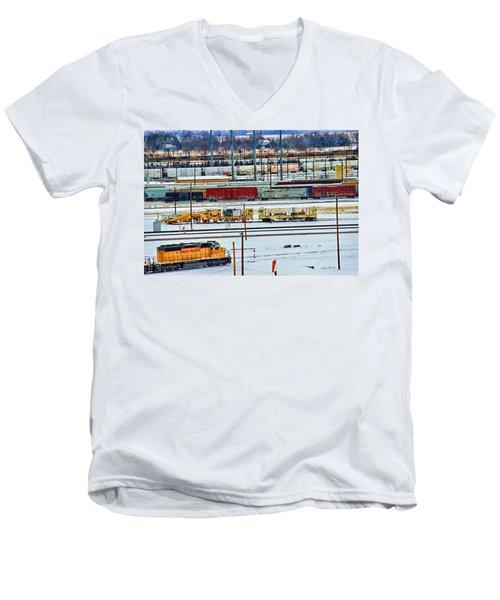 Bailey's Colors Men's V-Neck T-Shirt