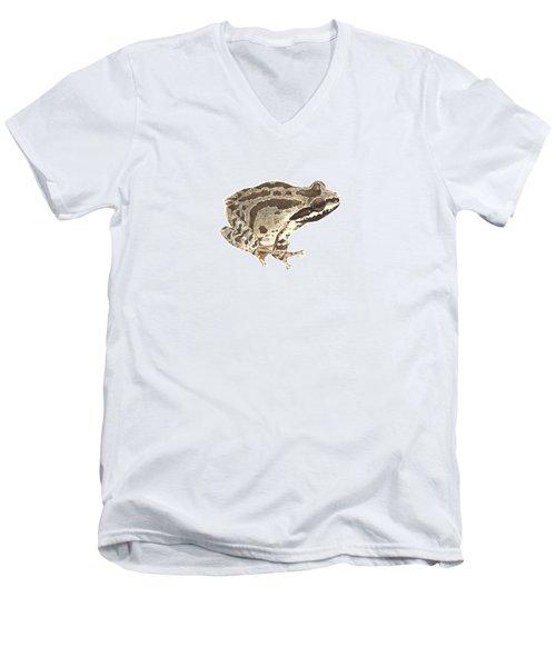 Baja California Treefrog Men's V-Neck T-Shirt by Cindy Hitchcock