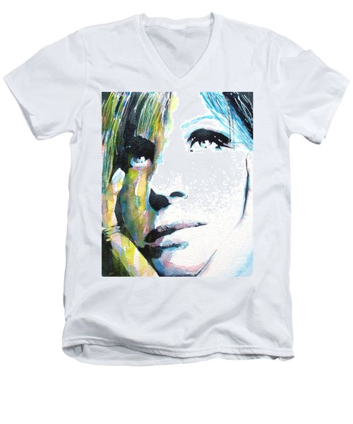 Barbra Streisand Men's V-Neck T-Shirt