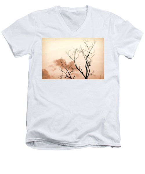 Bare Limbs Men's V-Neck T-Shirt by Denise Romano