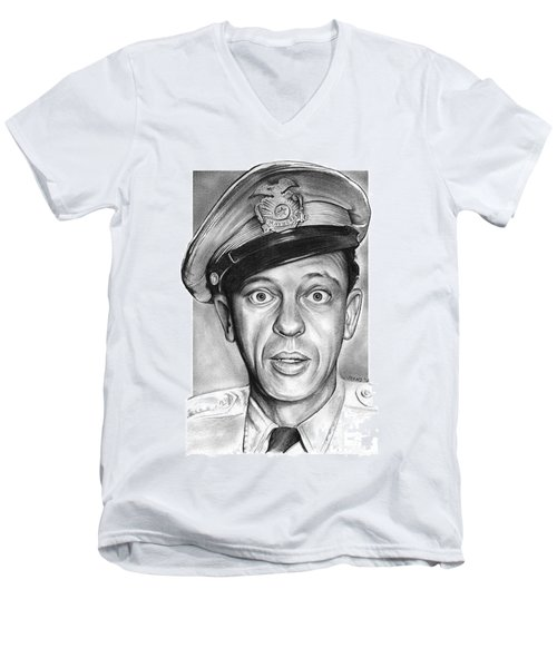 Barney Fife Men's V-Neck T-Shirt