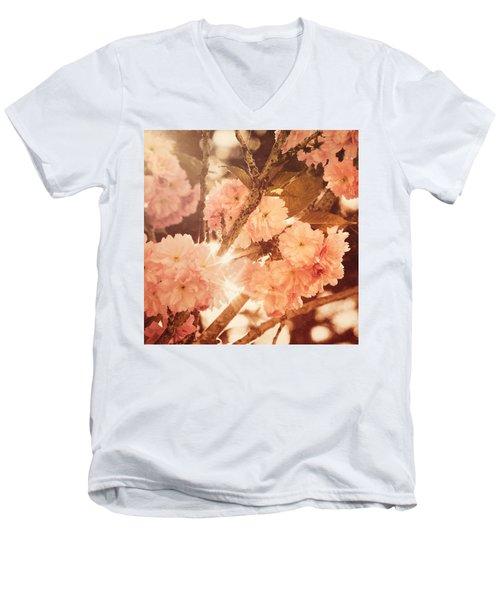 Baroque Spring Men's V-Neck T-Shirt