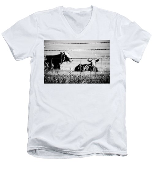 Barriers Men's V-Neck T-Shirt