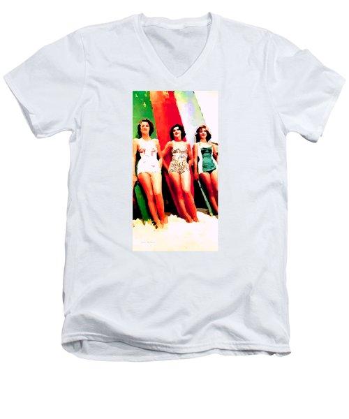 Bathing Beauties Men's V-Neck T-Shirt