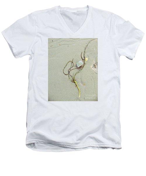 Beach Arrangement 5 Men's V-Neck T-Shirt by Marcia Lee Jones