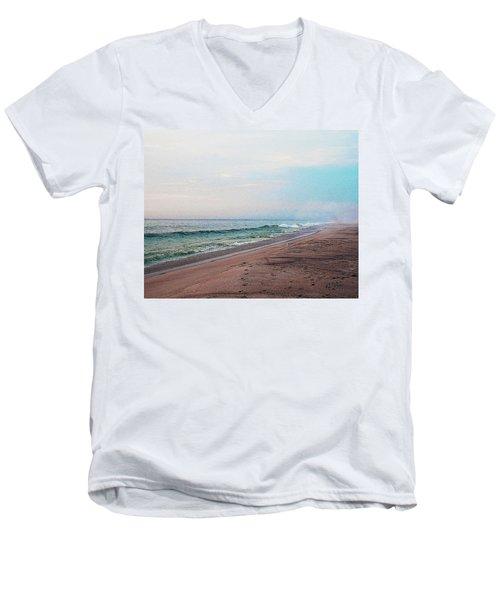 Beach Sentry Men's V-Neck T-Shirt