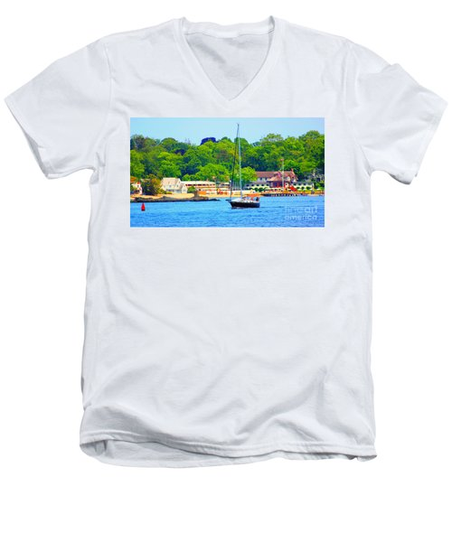 Beautiful Day For Sailing Men's V-Neck T-Shirt