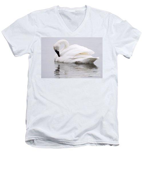 Beauty And Reflection Men's V-Neck T-Shirt