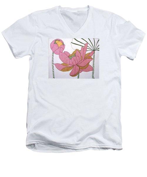 The Beauty Of The Spirit  Men's V-Neck T-Shirt