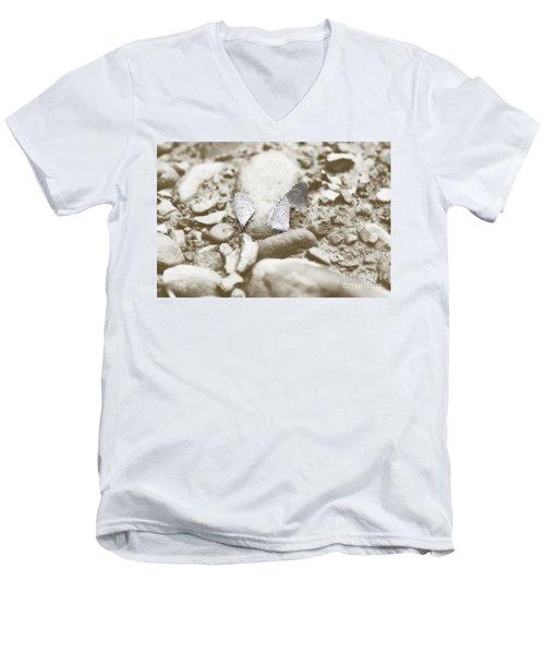 Beauty X3 Men's V-Neck T-Shirt by Melissa Petrey