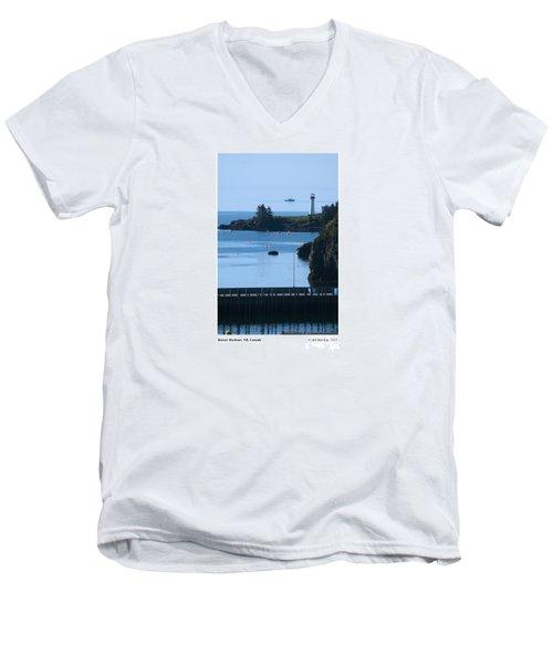 Beaver Harbour Nb Canada Men's V-Neck T-Shirt