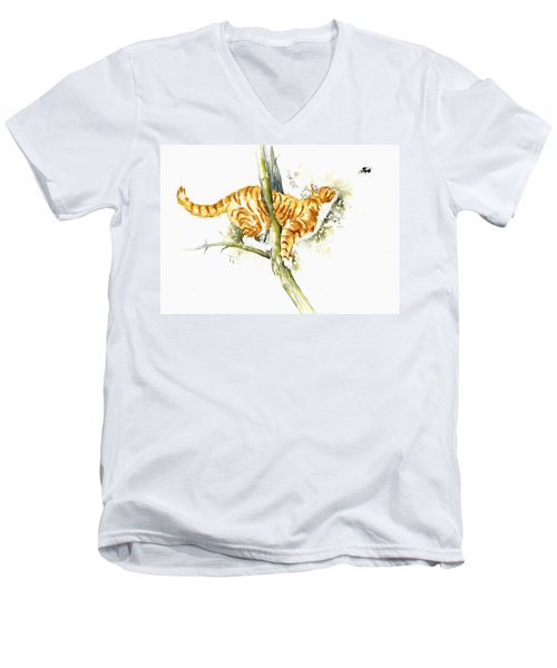 Bee High Men's V-Neck T-Shirt