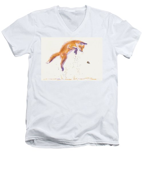 Bee Naive Men's V-Neck T-Shirt