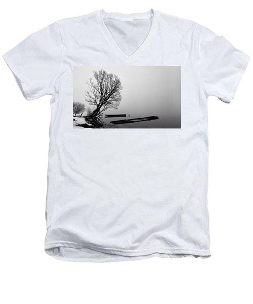 Beginning Of The End Men's V-Neck T-Shirt