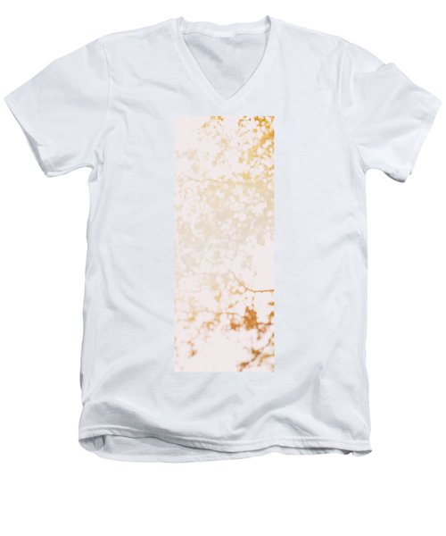 Beneath A Tree 14 4948 Triptych Set 1 Of 3 Men's V-Neck T-Shirt