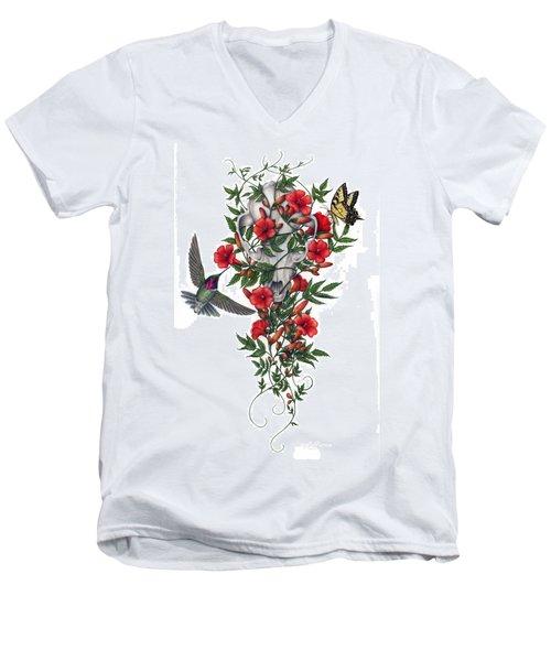 Beneath Summer's Promise Men's V-Neck T-Shirt by Pat Erickson