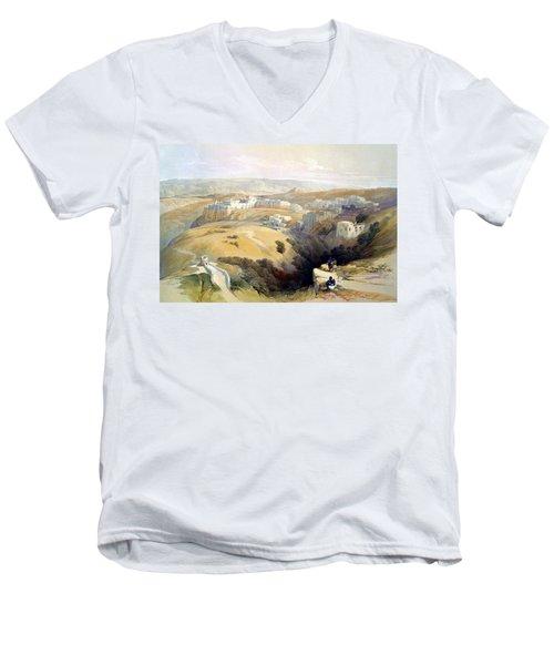 Bethlehem  Men's V-Neck T-Shirt