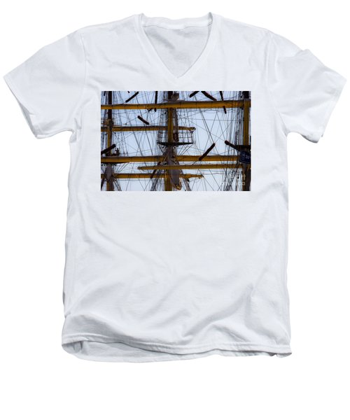 Between Masts And Ropes Men's V-Neck T-Shirt