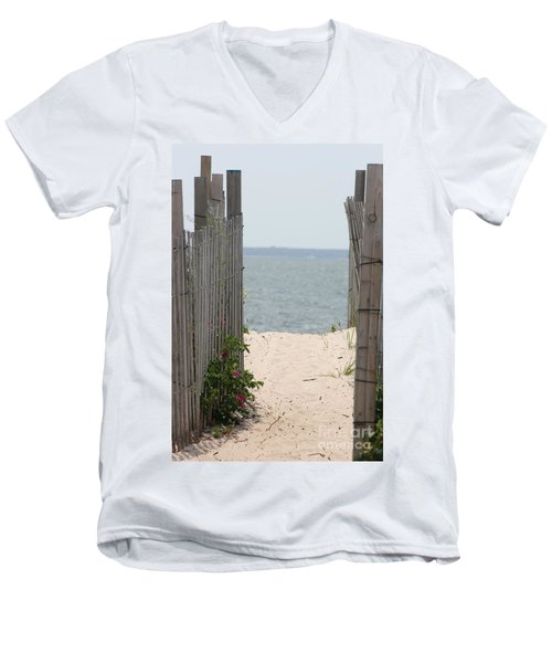 Beyond The Dunes Men's V-Neck T-Shirt