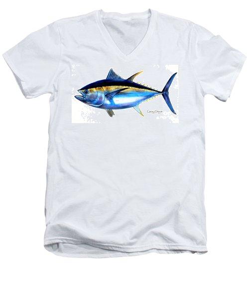 Big Eye Tuna Men's V-Neck T-Shirt