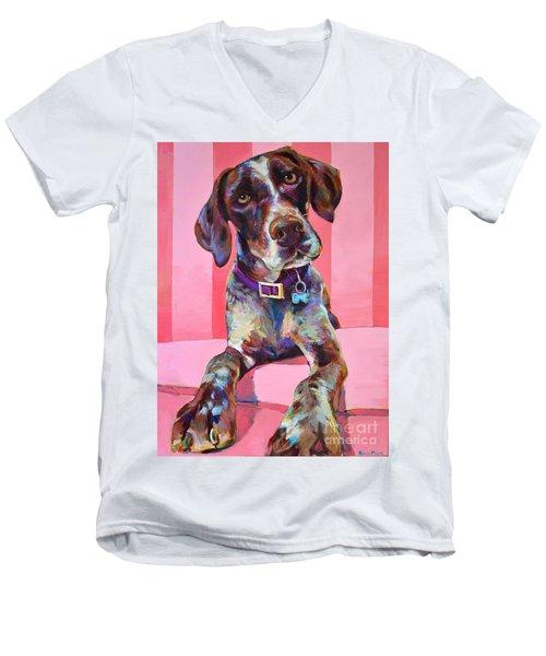 Big Hank Men's V-Neck T-Shirt