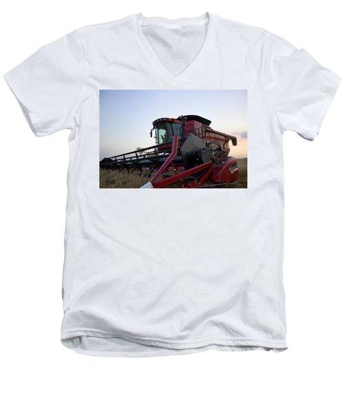 Big Harvest Men's V-Neck T-Shirt