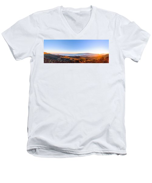 Big Island Sunset 2 Men's V-Neck T-Shirt