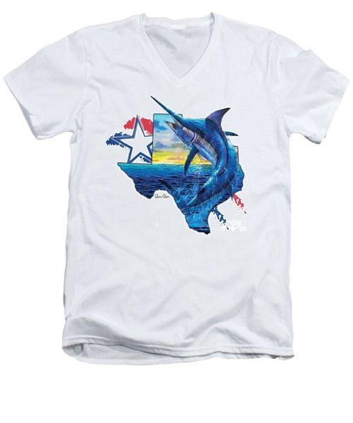 Bigger In Texas Men's V-Neck T-Shirt