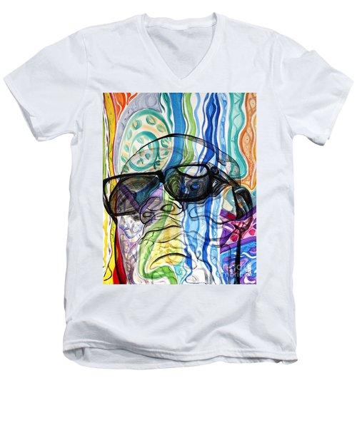 Biggie Men's V-Neck T-Shirt