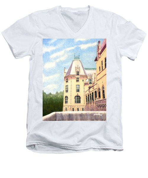 Biltmore Balcony Men's V-Neck T-Shirt