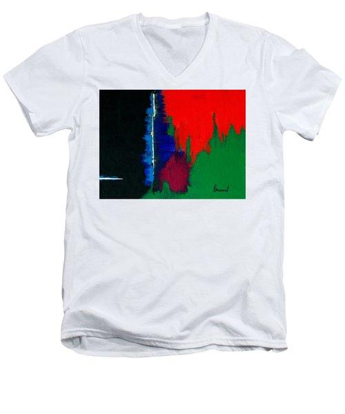Black Forest #4 Men's V-Neck T-Shirt