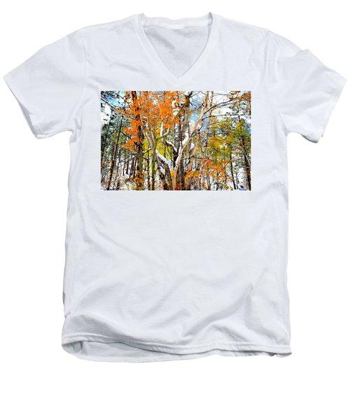 Black Hills Entanglement Men's V-Neck T-Shirt