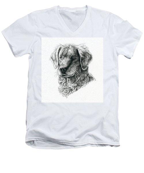 Blitz Men's V-Neck T-Shirt
