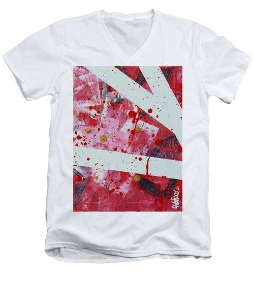 Blood On The Leaves Men's V-Neck T-Shirt
