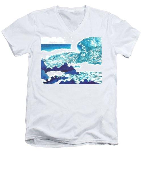 Blue Roar Men's V-Neck T-Shirt