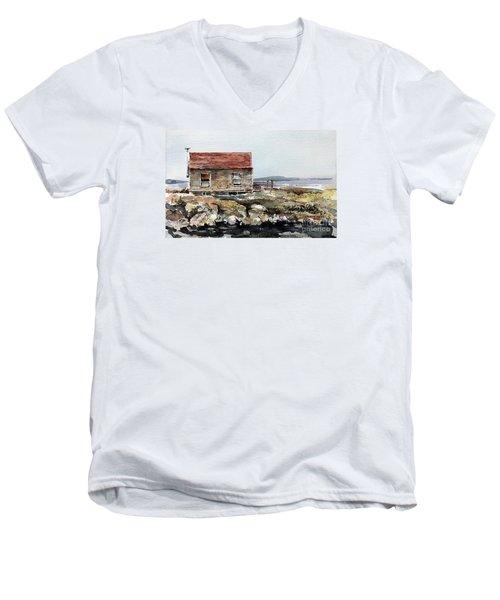 Blue Rocks Nova Scotia Men's V-Neck T-Shirt