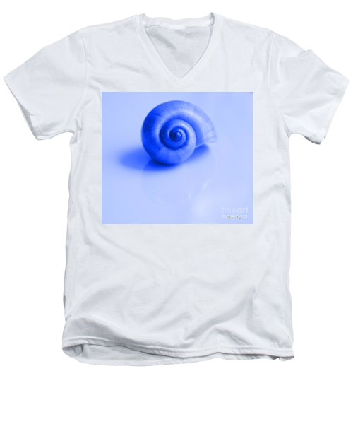 Blue Shell Men's V-Neck T-Shirt