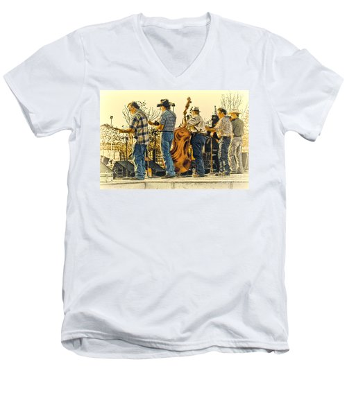 Bluegrass Evening Men's V-Neck T-Shirt