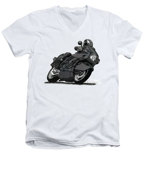Bmw K1 Men's V-Neck T-Shirt