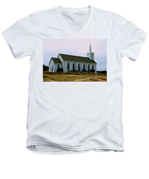 Bodega Church Men's V-Neck T-Shirt