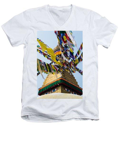 Bodhnath  Men's V-Neck T-Shirt