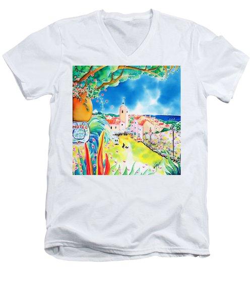 Bon Dimanche Men's V-Neck T-Shirt