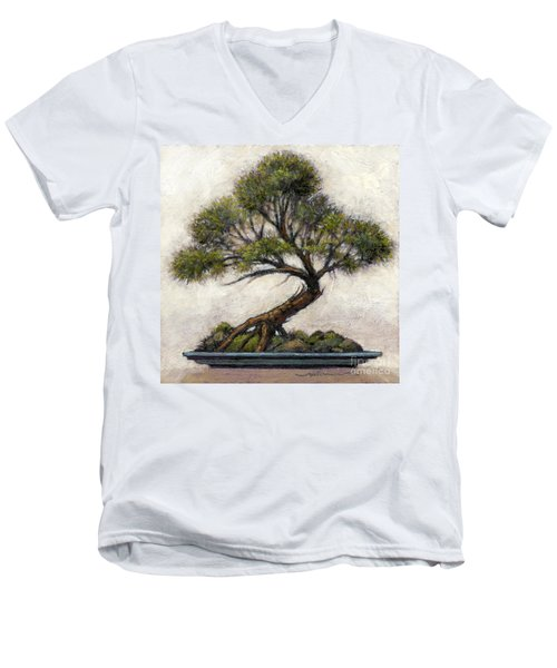 Bonsai Cedar Men's V-Neck T-Shirt