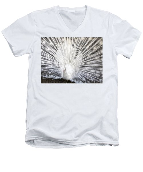 Men's V-Neck T-Shirt featuring the photograph Booya by Tammy Espino
