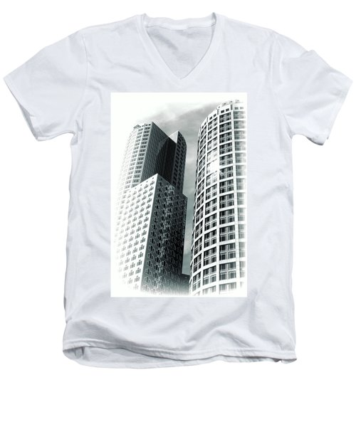 Boston Architecture Men's V-Neck T-Shirt