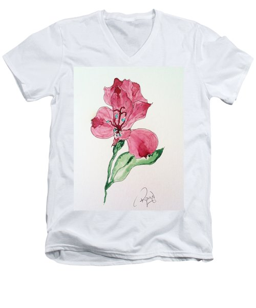 Botanical Work Men's V-Neck T-Shirt
