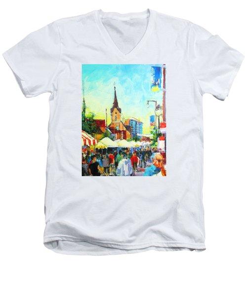 Brady Street Men's V-Neck T-Shirt