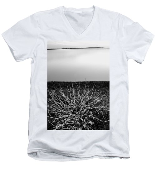 Branching Out Men's V-Neck T-Shirt
