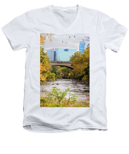 Brandywine Creek Men's V-Neck T-Shirt